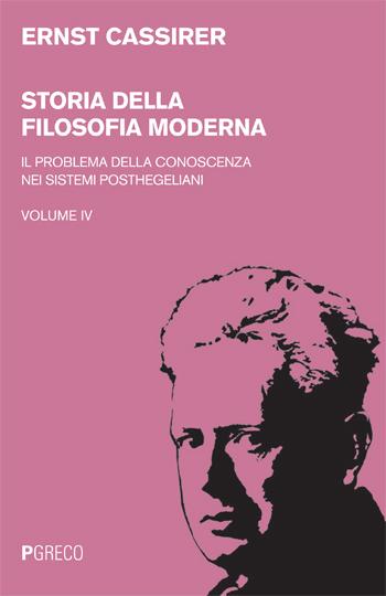Storia della filosofia moderna Vol.IV